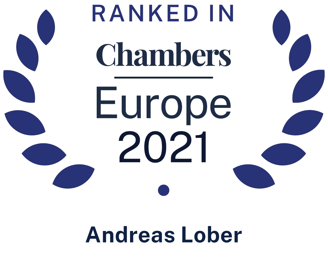 Andreas Lober, Chambers Europe 2021