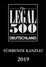 Legal 500 Deutschland Leading Firm 2019 Restrukturierung
