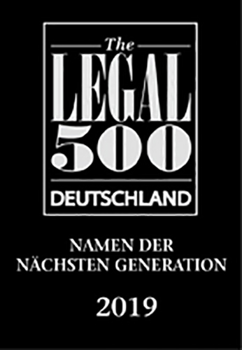 Legal 500, Name der nächsten Generation 2019