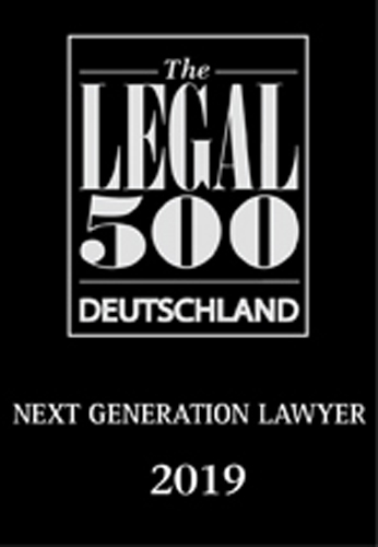Legal 500, Next Generation Lawyer 2019