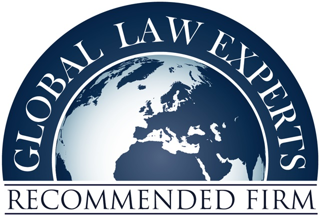 Global Law Experts Recommended Firm 2019