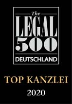 Legal 500 Deutschland Top Kanzlei 2020 Games