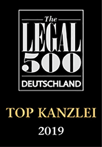 Legal 500 Deutschland Top Kanzlei 2019 Games