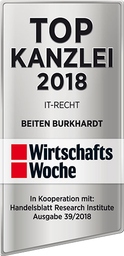 WiWo, Top Kanzlei IT-Recht 2018