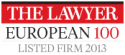European 100, The Lawyer 100