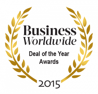 Business Worldwide - Deal of the Year Award 2015